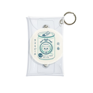 生ビールたぬき Mini Clear Multipurpose Case