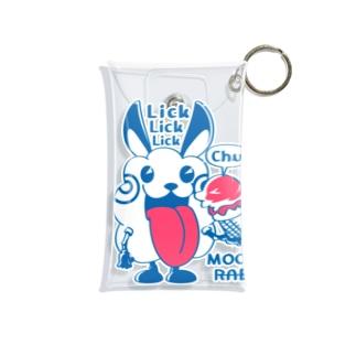 CT123 モコモコラビット1号*Lick Lick Lick Mini Clear Multipurpose Case
