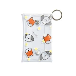 ぽて𖧷てん Mini Clear Multipurpose Case