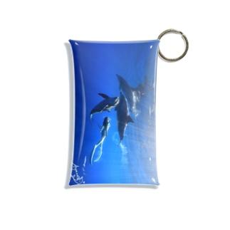 Ayano & Dolphin クリアな商品 Mini Clear Multipurpose Case