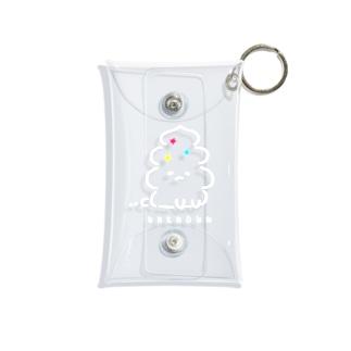 うんこ動物〜UNKNOWN ver.〜 Mini Clear Multipurpose Case