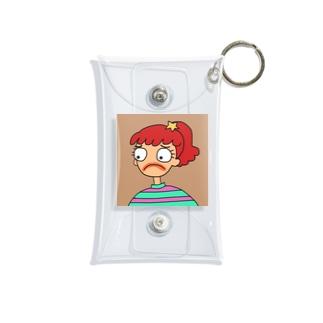 sadness girl Mini Clear Multipurpose Case
