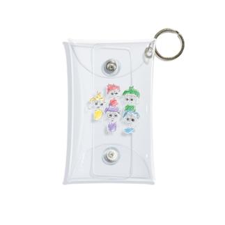 rainbowず Mini Clear Multipurpose Case