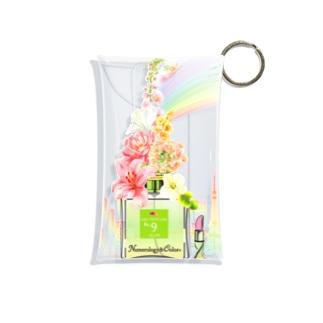 アンドアイデザイン 数秘&カラー🄬オマージュボトルNo9&OLIVE Mini Clear Multipurpose Case