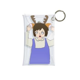 奈良が好き過ぎて鹿になったちゃん Mini Clear Multipurpose Case