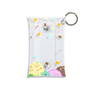 アイスまみれ Mini Clear Multipurpose Case