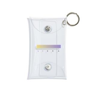 【星座グラデ】天秤座/Libra Mini Clear Multipurpose Case