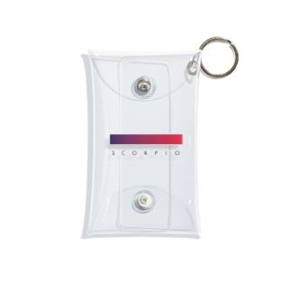 【星座グラデ】蠍座/Scorpio Mini Clear Multipurpose Case