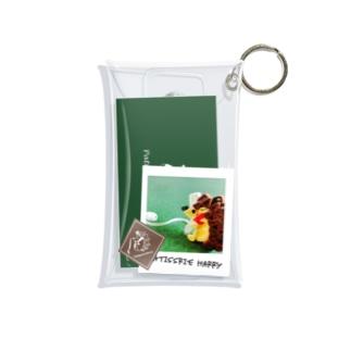 紙もの集め(パティスリーハリー) Mini Clear Multipurpose Case