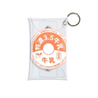 牛乳瓶のふた Mini Clear Multipurpose Case