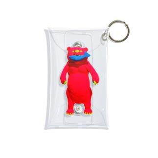 『SHAKE feat. BEAR 』 Mini Clear Multipurpose Case