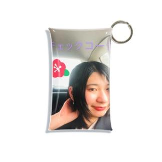 キーホルダー② Mini Clear Multipurpose Case