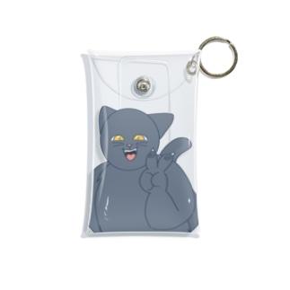 チョモランマの元気な猫 Mini Clear Multipurpose Case