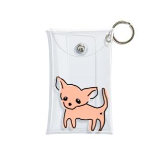 ゆるチワワ(オレンジ) Mini Clear Multipurpose Case