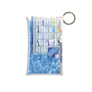 ドルドル Mini Clear Multipurpose Case
