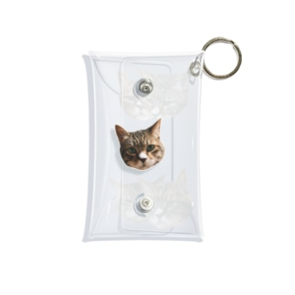 よも顔5選 Mini Clear Multipurpose Case