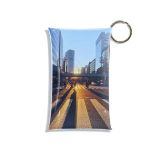 横断歩道 Mini Clear Multipurpose Case