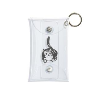 ぺぺこ(黒) Mini Clear Multipurpose Case