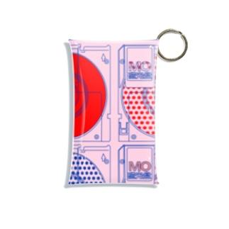 【MO】光磁気ディスク【光磁盘】 Mini Clear Multipurpose Case