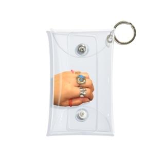 手(リングコレクション) Mini Clear Multipurpose Case