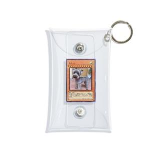 冥犬マナコレクション Mini Clear Multipurpose Case