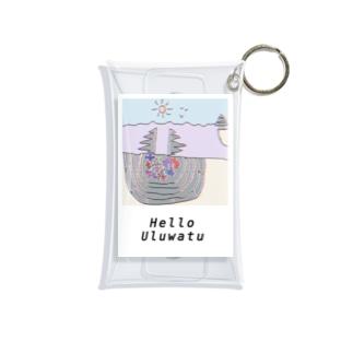 「Helloウルワツ」クリアケース Mini Clear Multipurpose Case