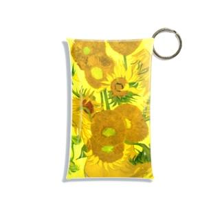 ゴッホ/ひまわり Vincent van Gogh / Sunflowers Mini Clear Multipurpose Case