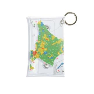 北海道179市町村地図 Mini Clear Multipurpose Case