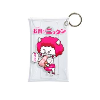 お肉乗っニッくんグッズシリーズ1 Mini Clear Multipurpose Case