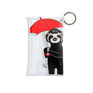 雨の日のぺれぞう Mini Clear Multipurpose Case