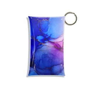 アルコールインクアート 紫煙 Mini Clear Multipurpose Case