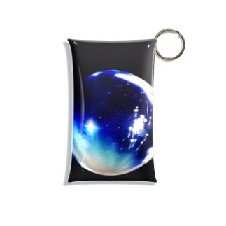 惑星みたいなシャボン玉 Mini Clear Multipurpose Case