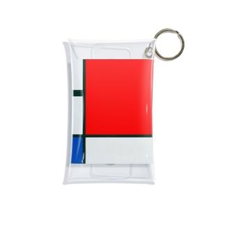 モンドリアン Composition with Red, Blue and Yellow  Piet Mondrian1930 Mini Clear Multipurpose Case