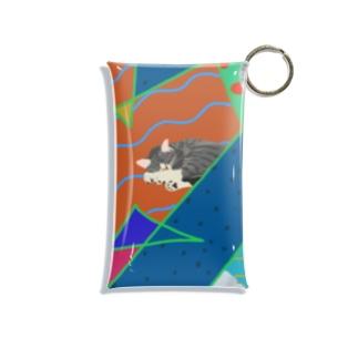 猫かわいい Mini Clear Multipurpose Case