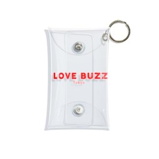 LOVEBUZZ logo RED Mini Clear Multipurpose Case