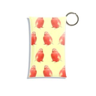 アキクサインコのチャム(チャムがいっぱいイエロー) Mini Clear Multipurpose Case