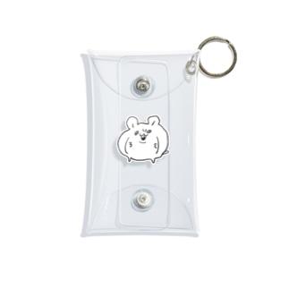 元祖はむちゅた Mini Clear Multipurpose Case