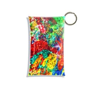 絵画の花 Mini Clear Multipurpose Case