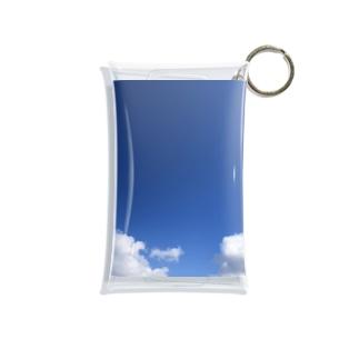 青いそら Mini Clear Multipurpose Case