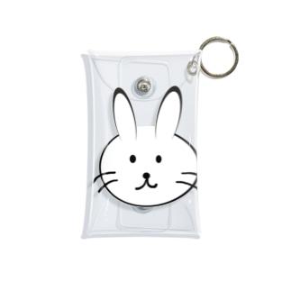 メモのウサギさん Mini Clear Multipurpose Case