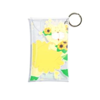 夏だよ!ひまわりの妖精 Mini Clear Multipurpose Case