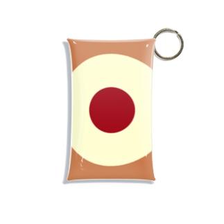 サークルa・カフェオレ・クリーム・チョコ Mini Clear Multipurpose Case