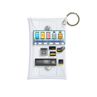 つめた〜い 自動販売機 Mini Clear Multipurpose Case