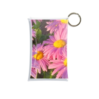 花模様  光を浴びて Mini Clear Multipurpose Case