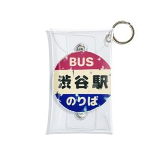 レトロバス停 Mini Clear Multipurpose Case