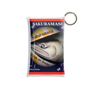 サクラマス! 十勝(桜鱒;SAKURAMASU)あらゆる生命たちへ感謝をささげます。 Mini Clear Multipurpose Case