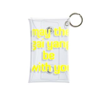 May the gai yang be with you ガイヤーンと共にあらんことを Mini Clear Multipurpose Case