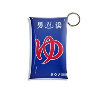 ゆ(男湯) Mini Clear Multipurpose Case