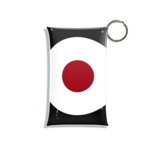サークルa・黒・白・チョコ Mini Clear Multipurpose Case