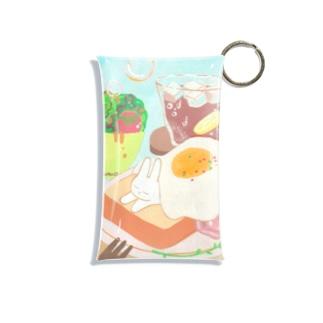 プティと朝食 Mini Clear Multipurpose Case